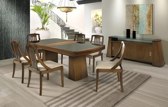 Mesa Elástica em madeira